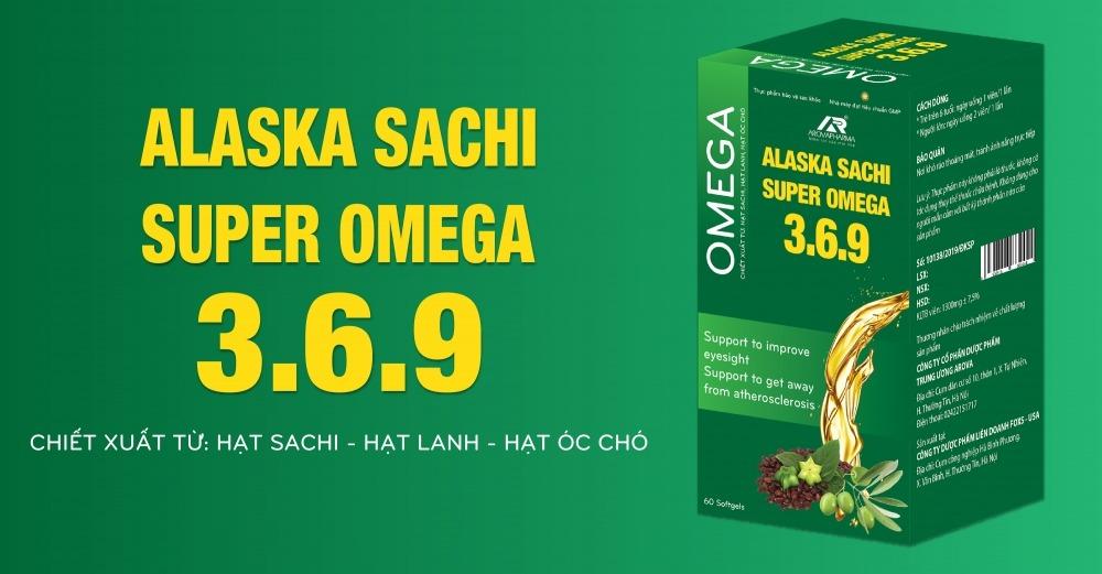 Alaska Sachi Super Omega 3. 6. 9