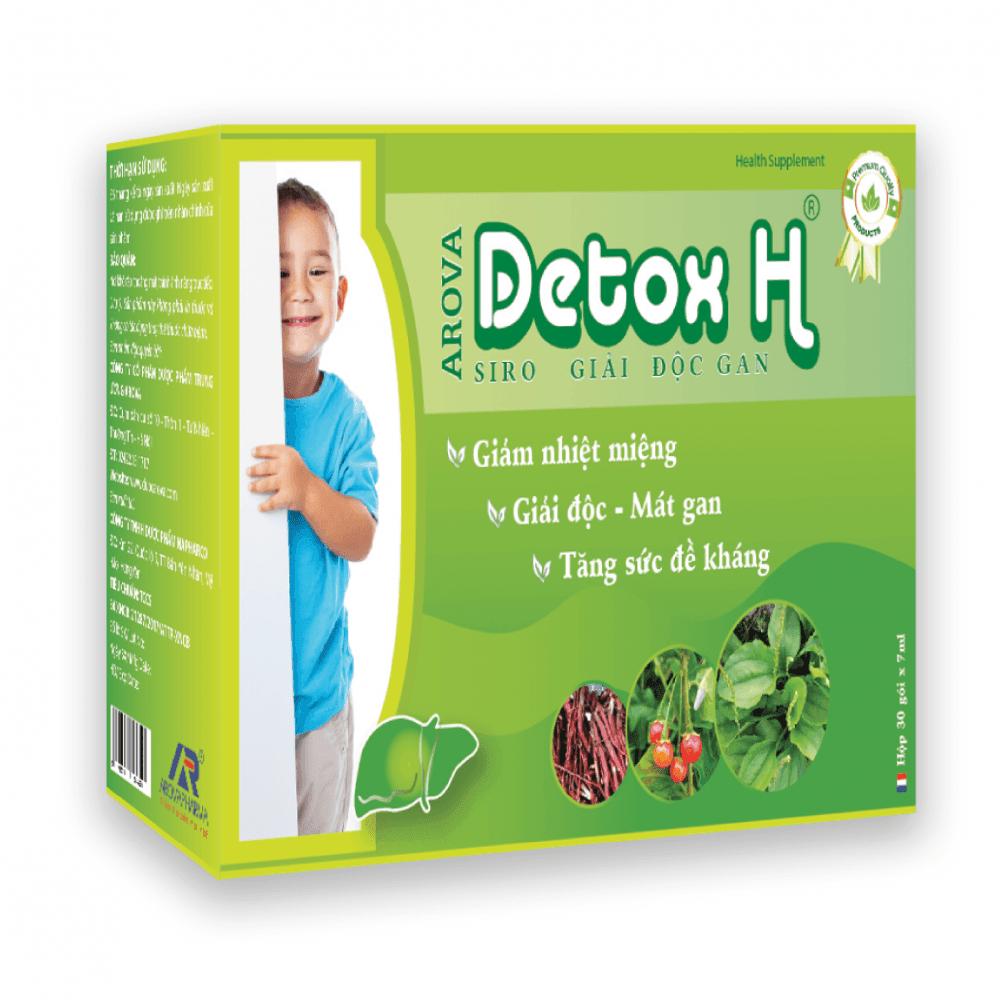 Siro giải độc gan Detox H